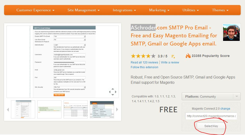 smtp pro email