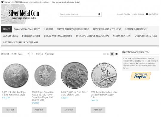 Silver Metal Coin