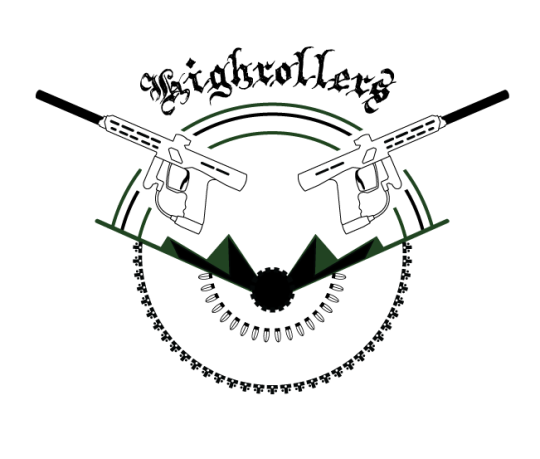 Highrollers logo design teition solutions