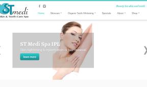 STMediSpa Teition Solutions web design
