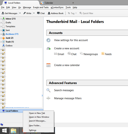 local-folders