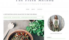 the Fresh Method web design Teition Solutions
