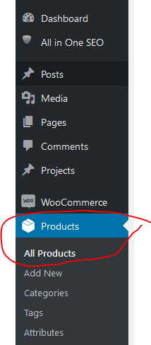Woocommerce - add new product