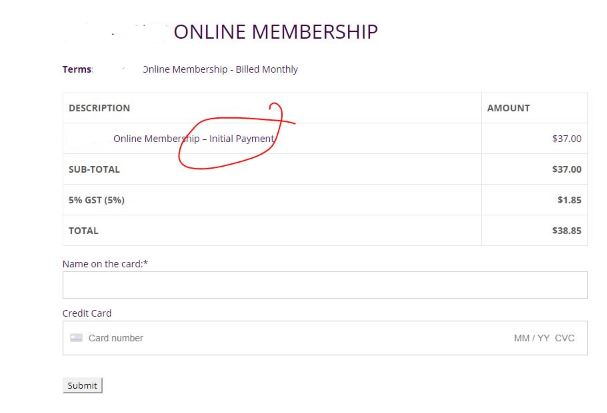 Memberpress Checkout Description Change