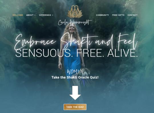 Carla Wainwright Web Design